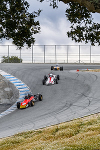 Open wheelers in the Corkscrew