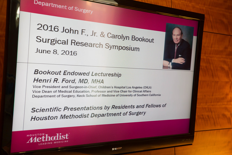 JOHN BOOKOUT SURGICAL RESEARCH SYMPOSIUM