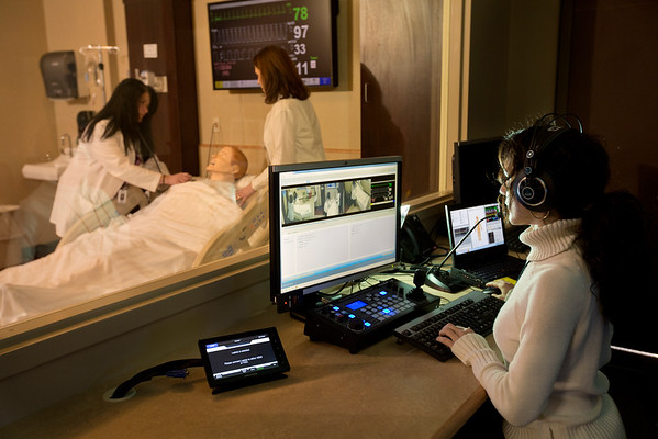Holy Name Medical Center has received a $5 million grant — matching the biggest gift in the hospital's history – for its Institute for Simulation Learning from The Russell Berrie Foundation.   Photo by Jeff Rhode/Holy Name Medical Center