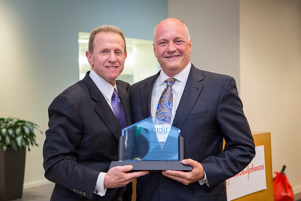 Michael Maron, President and CEO of Holy Name Medical Center, has been honored with the 2015 New Jersey Distinguished Service Award from the American College of Healthcare Executives (ACHE) for his ongoing contribution in the field of health care both locally and globally.  Photo by Victoria Matthews/Holy Name Medical Center on 05/28/2015