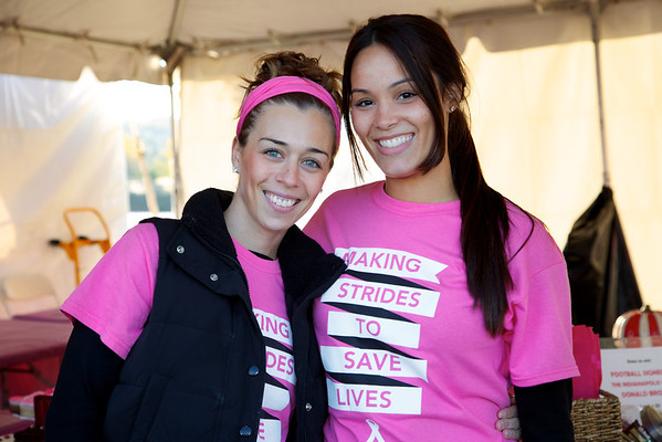 Holy Name Medical Center was a sponsor for the American Cancer Society's Strides Against Cancer Walk located at Overpeck Park, in Ridgefield Park, New Jersey on October 20, 2013.  Photo by Victoria Matthews/Holy Name Medical Center.
