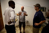 Mike Maron meets with DR. Harold Previl  of Hopital Sacré Coeur and Steve Mosser to asses the x-ray lab and form a plan of making improvements to the hospital. <br /> Photos from Hopital Sacré Coeur, the CRUDEM foundation, and Holy Name Medical Center's involvement in Milot, Haiti.  Photo by Jeff Rhode / Holy Name Medical Center 9/5/12
