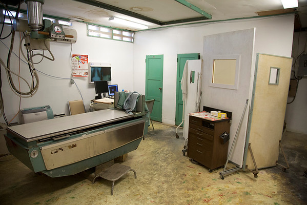 The x-ray lab at Hopital Sacré Coeur in Milot, Haiti.<br /> Hopital Sacré Coeur, the CRUDEM foundation, and Holy Name Medical Center's involvement in Milot, Haiti.  Photo by Jeff Rhode / Holy Name Medical Center 9/4/12