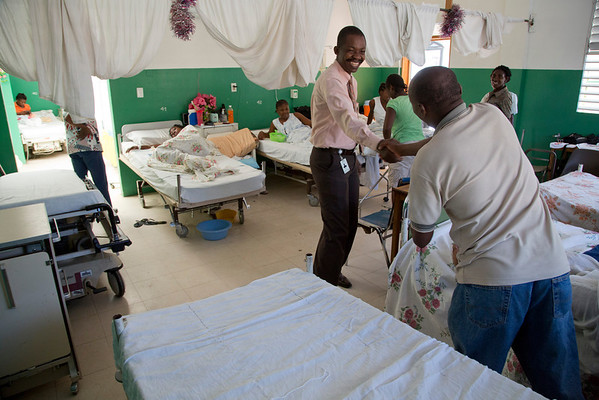 Photos in and around Hopital Sacré Coeur in Milot, Haiti. <br /> Photos from Hopital Sacré Coeur, the CRUDEM foundation, and Holy Name Medical Center's involvement in Milot, Haiti.  Photo by Jeff Rhode / Holy Name Medical Center 9/6/12