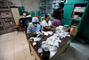 The pharmacy at at Hoptial Sacre Coeur in Milot, Haiti. <br /> <br /> Photos from Hopital Sacré Coeur, the CRUDEM foundation, and Holy Name Medical Center's involvement in Milot, Haiti.  Photo by Jeff Rhode / Holy Name Medical Center 10/22/13