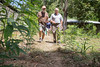Tim Traynor and Mike Maron asses a construction site in Milot, Haiti. <br /> Photos from Hopital Sacré Coeur, the CRUDEM foundation, and Holy Name Medical Center's involvement in Milot, Haiti.  Photo by Jeff Rhode / Holy Name Medical Center 9/4/12