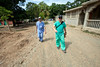 Kieran Hardy and Frank Marano working at Hopital Sacre Coeur in Milot, Haiti. <br /> <br /> Photos from Hopital Sacré Coeur, the CRUDEM foundation, and Holy Name Medical Center's involvement in Milot, Haiti.  Photo by Jeff Rhode / Holy Name Medical Center 10/22/13