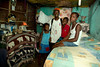 A family in their home in Milot, Haiti. This 1 room is approx. 10X15 feet and has 1 double bed. There is 1 more room 4X10 and occasional electricity. <br /> <br /> Photos from Hopital Sacré Coeur, the CRUDEM foundation, and Holy Name Medical Center's involvement in Milot, Haiti.  Photo by Jeff Rhode / Holy Name Medical Center 6/14/12