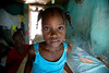 A girl in her home in Milot, Haiti. <br /> <br /> Photos from Hopital Sacré Coeur, the CRUDEM foundation, and Holy Name Medical Center's involvement in Milot, Haiti.  Photo by Jeff Rhode / Holy Name Medical Center 6/14/12