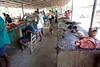 The food market of Milot, Haiti. <br /> Photos from Hopital Sacré Coeur, the CRUDEM foundation, and Holy Name Medical Center's involvement in Milot, Haiti.  Photo by Jeff Rhode / Holy Name Medical Center 6/13/12