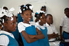 School children in Milot, Haiti. Photos from Hopital Sacré Coeur, the CRUDEM foundation, and Holy Name Medical Center's involvement in Milot, Haiti.  Photo by Jeff Rhode / Holy Name Medical Center 10/22/13