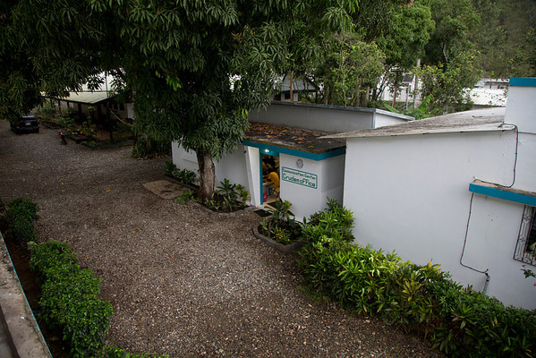 The Crudem campus in Milot, Haiti. This area is where volunteers and employees live while working at Hopital Sacre Coeur, which is a walk down the road. <br /> Photos from Hopital Sacré Coeur, the CRUDEM foundation, and Holy Name Medical Center's involvement in Milot, Haiti.  Photo by Jeff Rhode / Holy Name Medical Center 3/16/13