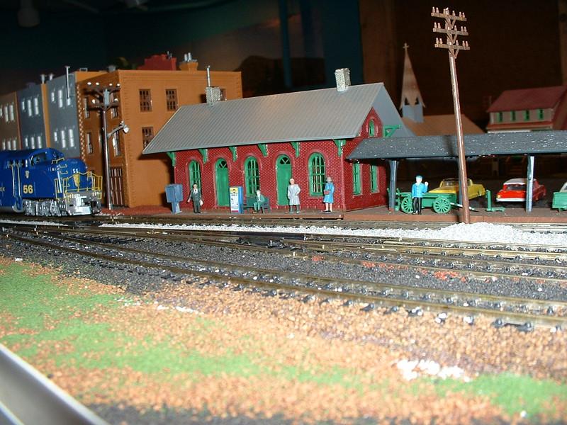 BL2 -- New Haven, VT station