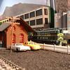 #402 Passes New Haven Vt Station