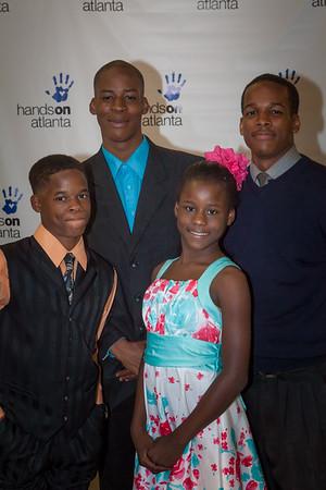 Tia, Trequan , Raequan, & Isious Morgan