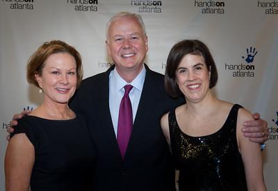 Ellen & Jim Landers w/ June Arnold