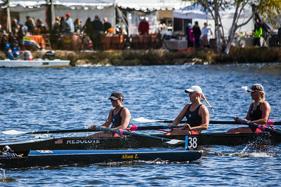 Head of the Charles 2014 - TBC Junior Women 4+