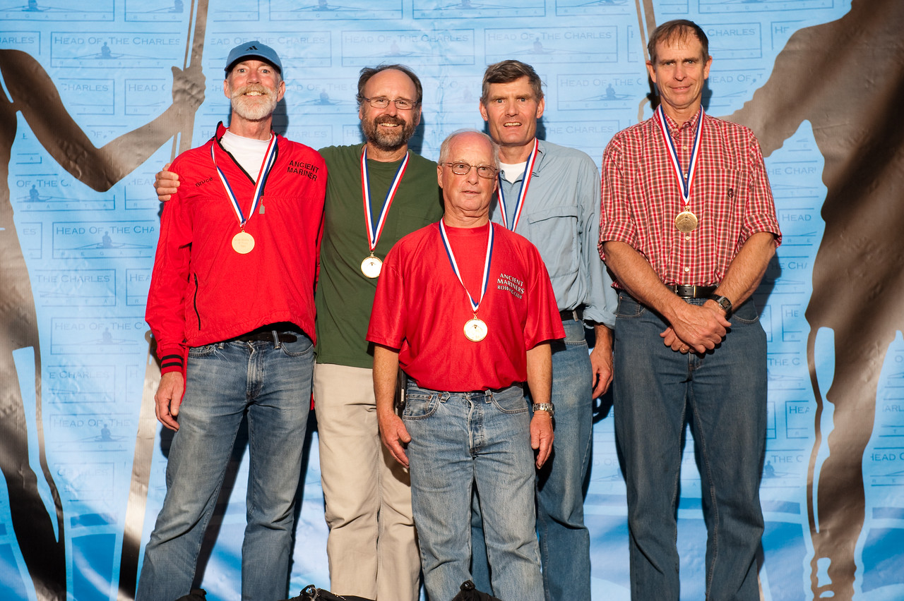Men Grand-Master Fours 60+ - Ancient Mariners Rowing Club