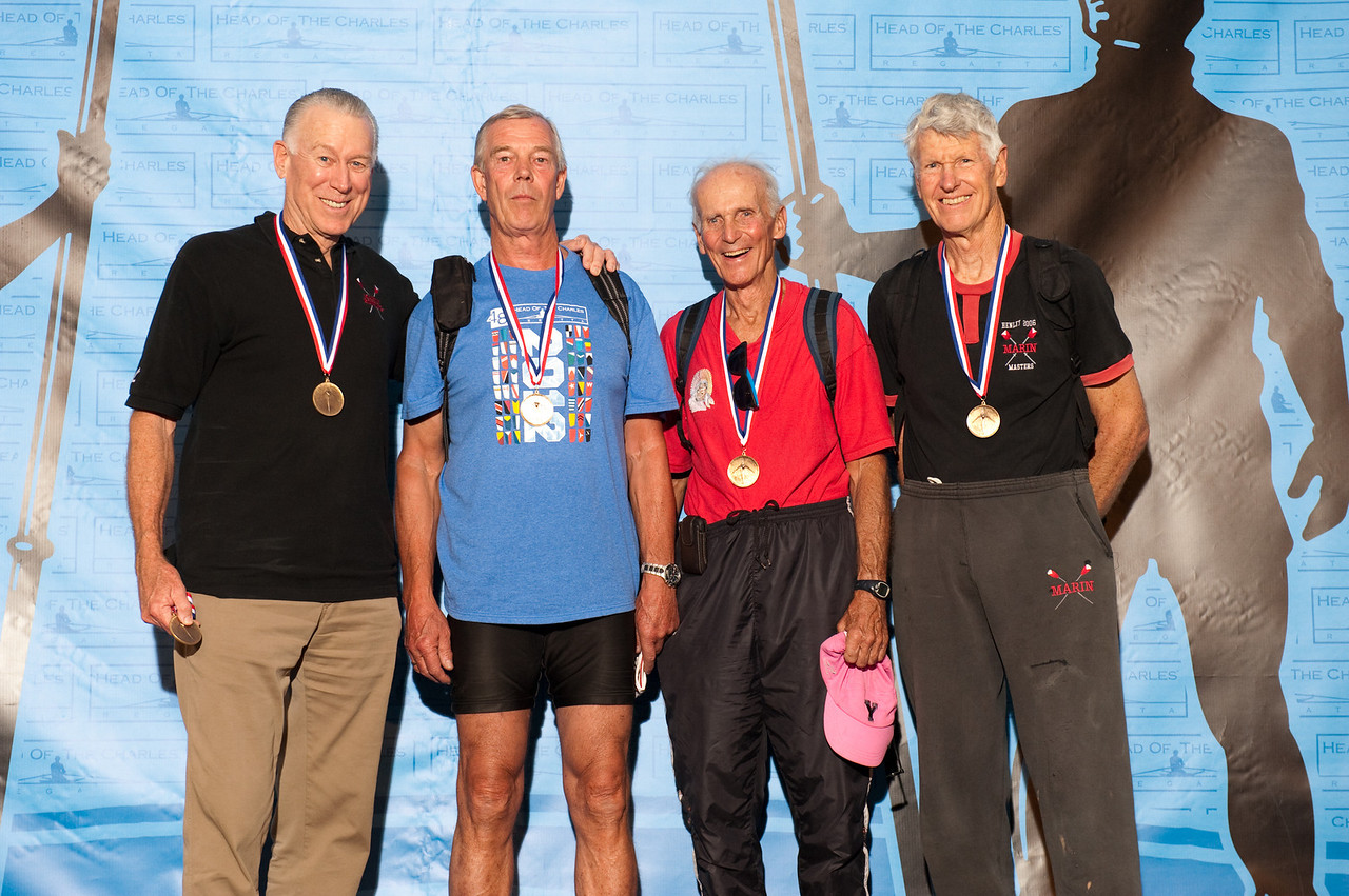 Men Veteran Fours 70+ - Marin Rowing Association