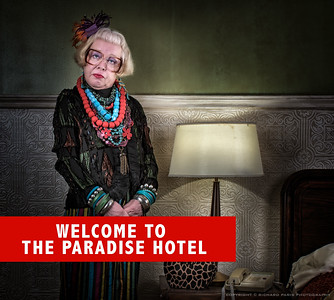 WELCOME TO THE PARADISE HOTEL.