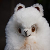 Alpaca toy made from alpaca wool. Cute!