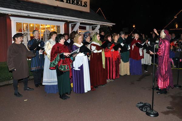 Skippack Christmas Tree Lighting 11/26/10