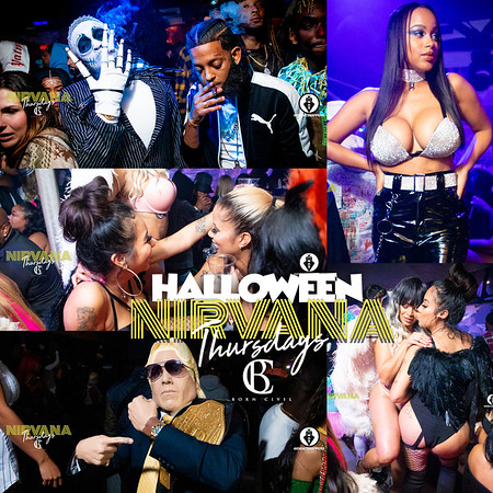 HOLLOWEEN AT NIRVANA HOSTED BY JERMAINE DUPRI 10.31.19