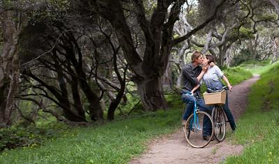 Engagement Photos in Monterey California