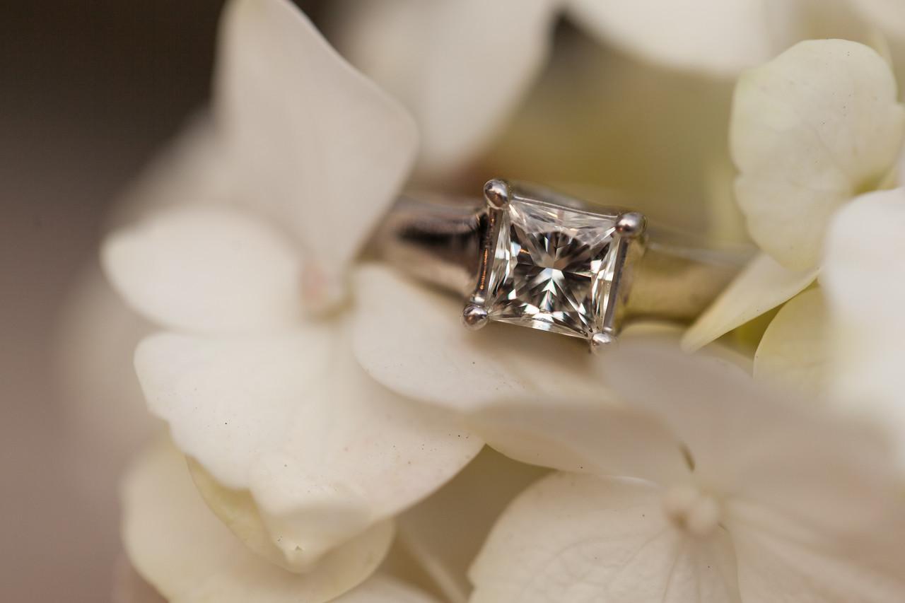 Wedding ring for wedding at Chaminade in Santa Cruz