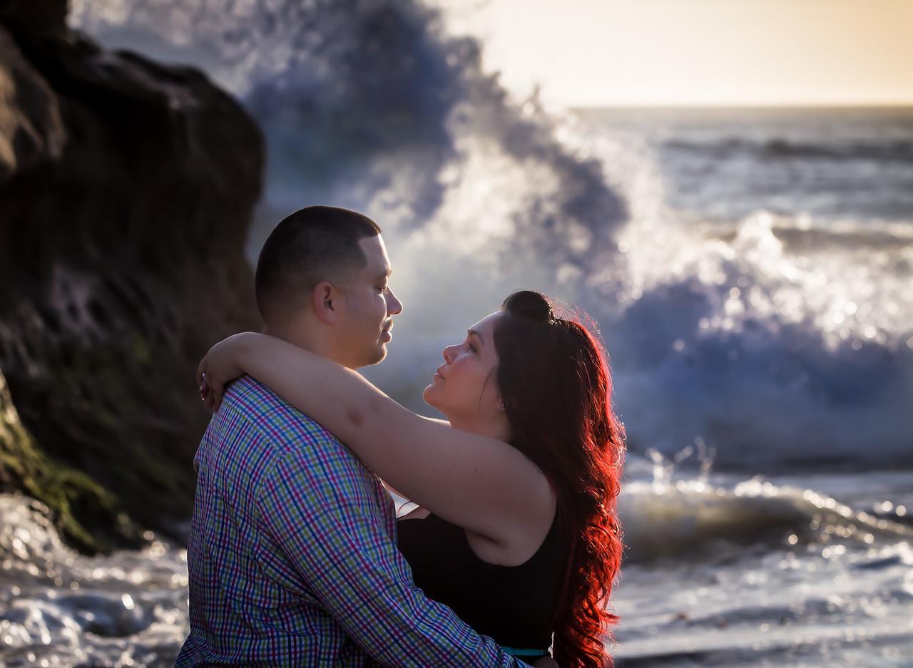 Santa Cruz Engagement Photography at Natural Bridges Beach