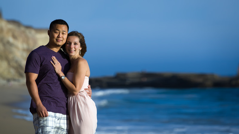 Engagement Photography Session at Panther Beach in Santa Cruz California