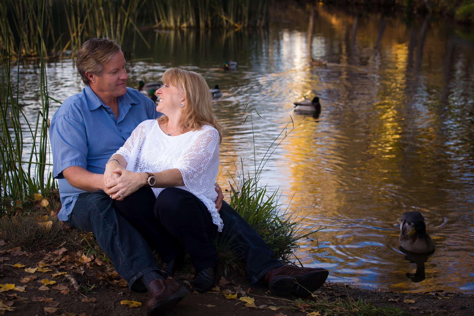 Engagement Photos in Henry Cowell in Santa Cruz