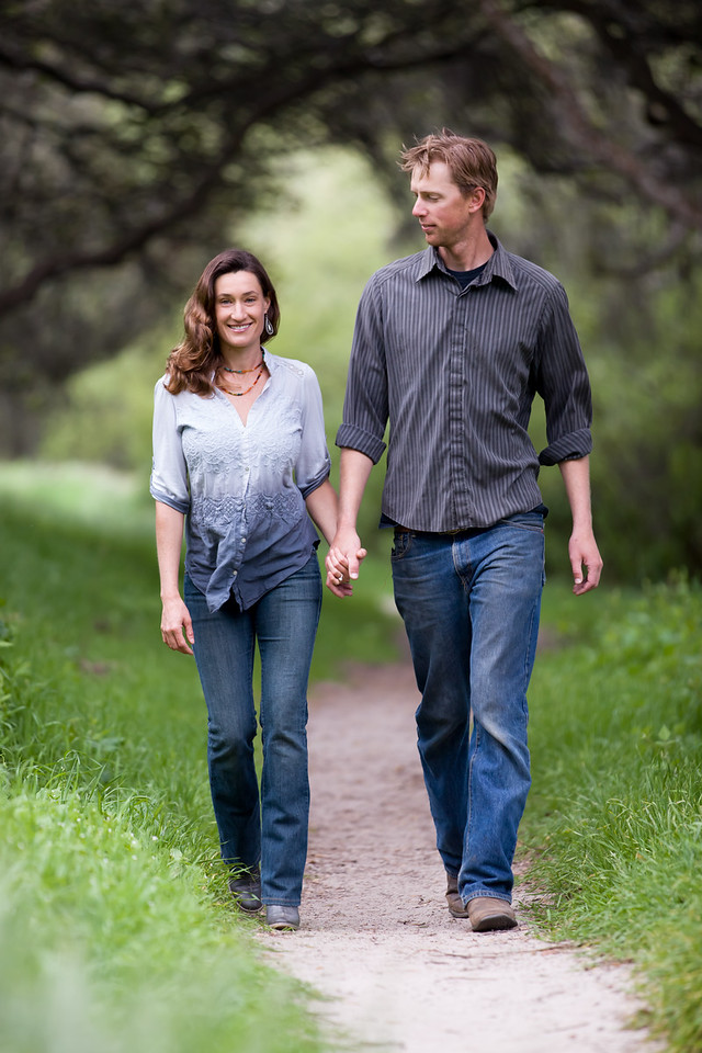 Engagement Photos in Monterey California