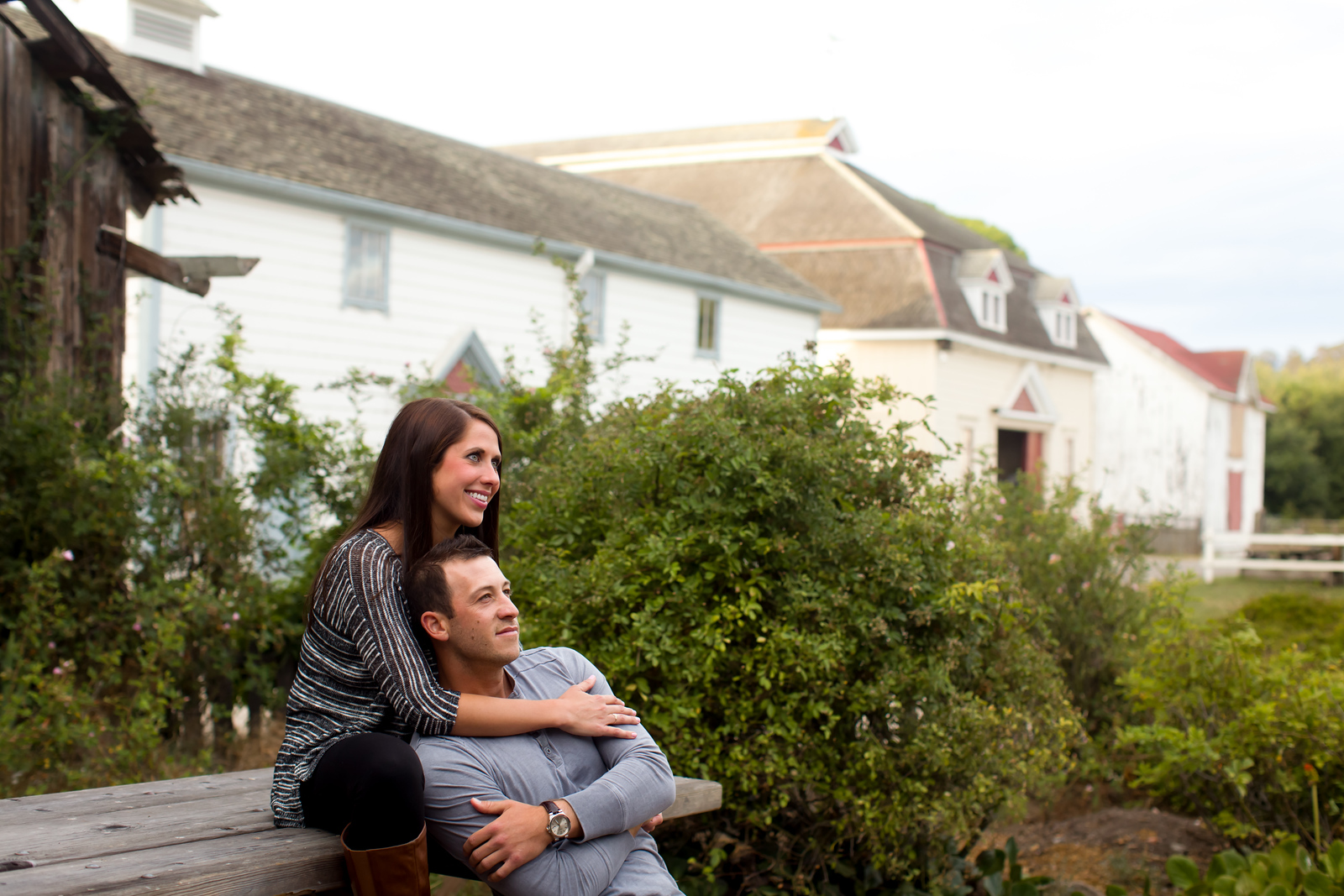 Engagement Photos at Wilder Ranch in Santa Cruz California