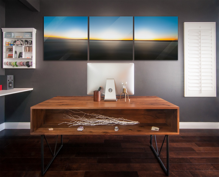 CDM Sunset Triptych #1