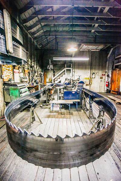 Hull Oakes Shapening Room