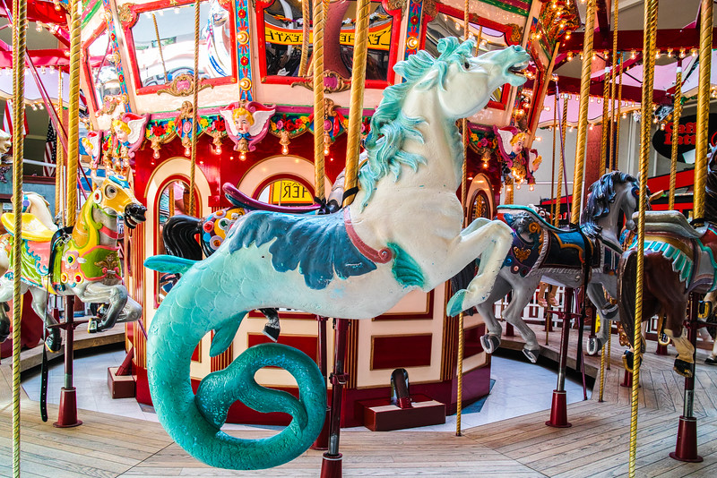 Seaside, OR, Carousel