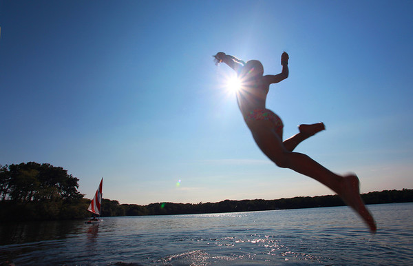 Summertime joy on Cape Cod.