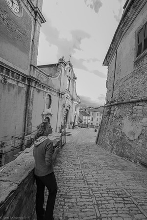 I need to remind you that Lisa and I have been in Italy for less than 12 hours when we found ourselves in this incredibly old village.  I had a hard time believing that this moment was really happening.