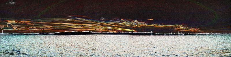 Screaming Sky Surreal. Art photo digital download and wallpaper screensaver. DIY Print.