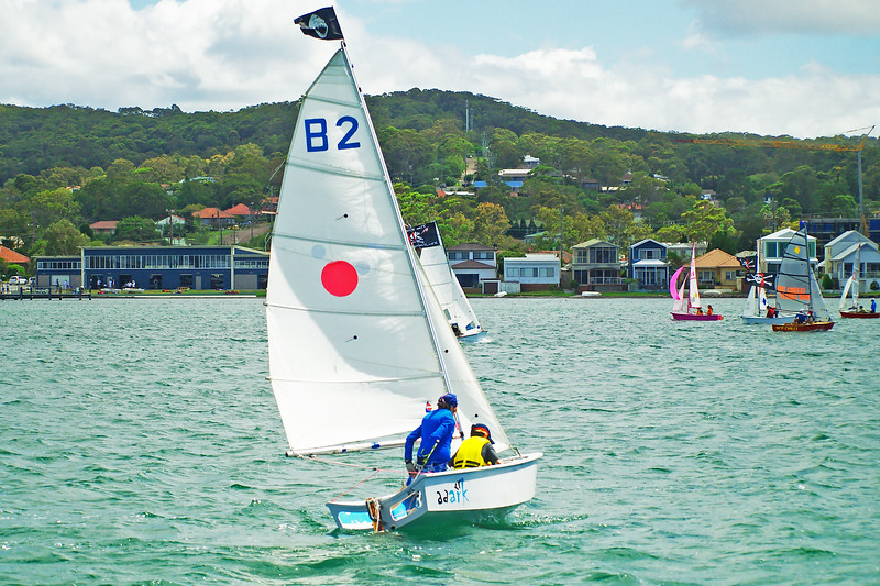 January , 2013: Children sailing. Editorial