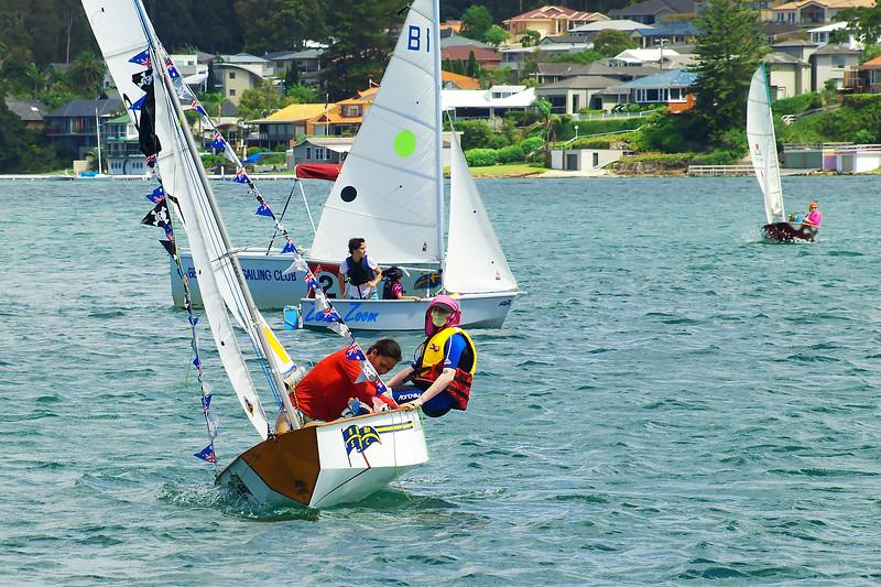 Children sailing. January, 2013: Editorial