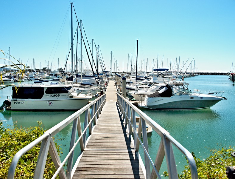 Great Keppel Marina. Roslyn Bay 4.