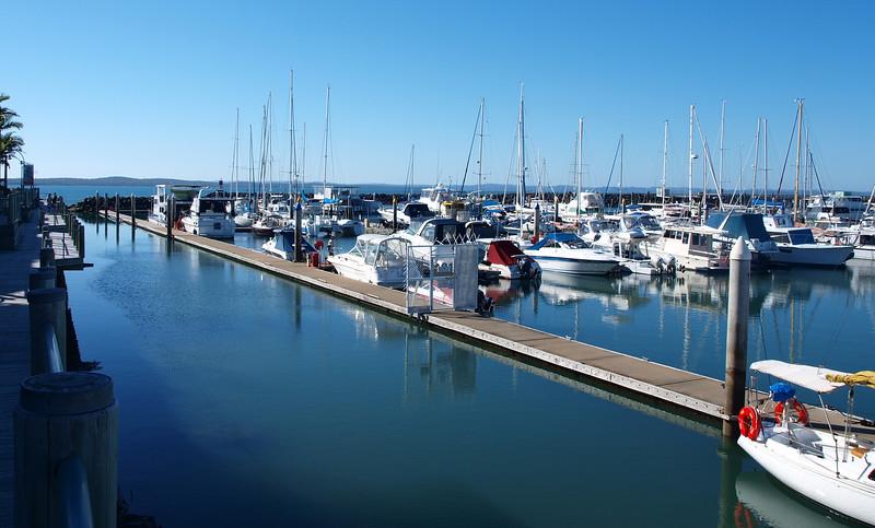 Urangan Marina. Nautical scene.