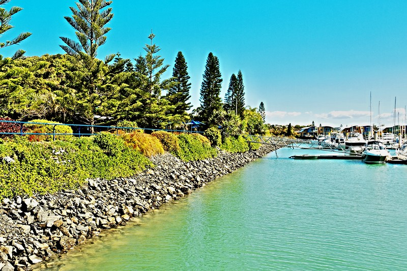 Marina Foreshore nautical scene.  Keppel Bay