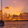 Crepuscular Rays Sunrise. Art photo digital download and wallpaper screensaver. DIY Print.