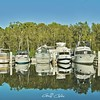 Marmong Point Marina. Original exclusive photo art.