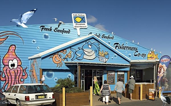 Fishing Co-op.Coffs Harbour Marina.Australia