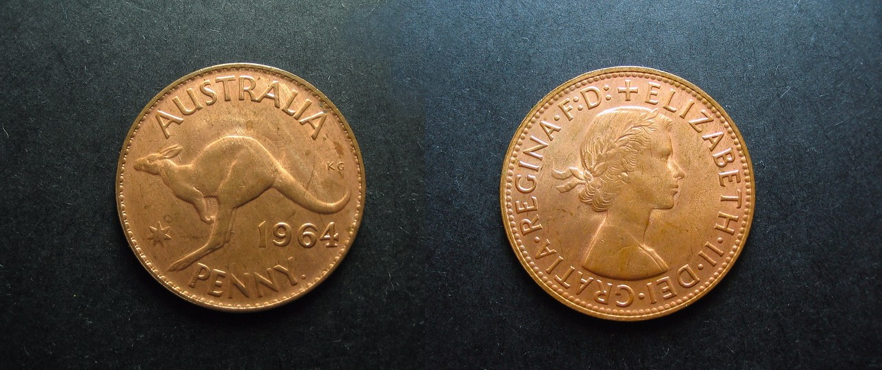 Vintage Pre-decimal Australian Penny