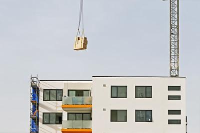 Working construction crane. Update 201 . Gosford. March, 2019.